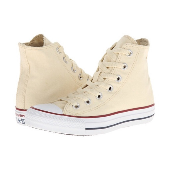 b9d89a79da3135 Converse Shoes - Converse chuck Taylor natural white hi top